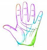 foto of palmistry  - palmistry - JPG