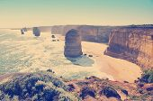 stock photo of 12 apostles  - Twelve Apostles famous landmark along the Great Ocean Road Australia - JPG