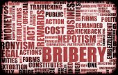 image of bribery  - Bribery in the Government in a Corrupt System - JPG
