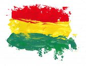 picture of rasta  - reggae colors - JPG