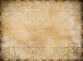image of steers  - old map background - JPG