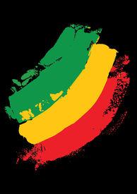 picture of reggae  - reggae colors - JPG