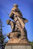 stock photo of sevastopol  - Memorial to the soldiers of World War II - JPG