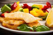 pic of halibut  - Fish dish  - JPG
