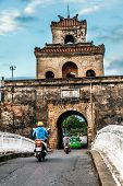stock photo of palace  - The palace gate - JPG