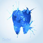 picture of teeth  - Creative Dental Icon Design - JPG