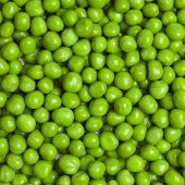 pic of sweet pea  - sweet bright green fresh peas square background - JPG