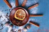 foto of cinnamon sticks  - Cinnamon sticks - JPG