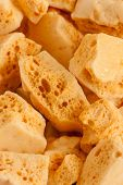 picture of toffee  - Honeycomb or cinder toffee hokey pokey sea foam known by many names and enjoyed around the world - JPG