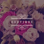 picture of boutique  - Vector illustration  - JPG