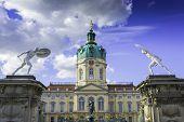 foto of royal palace  - Schloss Charlottenburg  - JPG