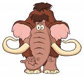 foto of mammoth  - Mammoth Cartoon Character - JPG