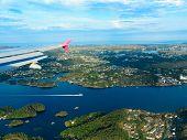 pic of fjord  - Birds eye - JPG