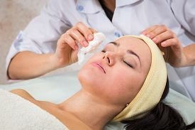 stock photo of cosmetic products  - Medical cosmetic procedure - JPG
