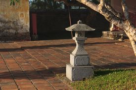 stock photo of luminaria  - Garden Light for lighting and garden decor - JPG