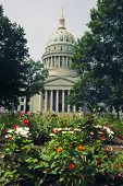 stock photo of capitol building  - Charleston West Virginia  - JPG