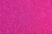 Shiny glimmering pink texture poster