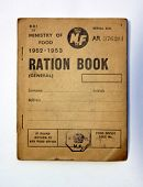 Post War British Ration Book
