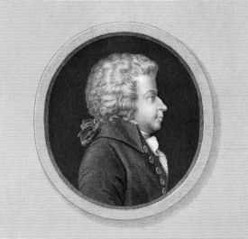 picture of mozart  - Wolfgang Amadeus Mozart  - JPG