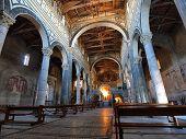 pic of salvatore  - Interior of the Baslica Di San Salvatore Al Monte - JPG