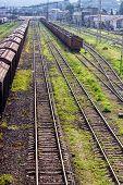 Railway Freight Transport, Tanks, Wagons. Railway Freight Transport, Tanks, Wagons. poster