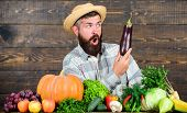 Excellent Quality Harvest. Grow Organic Crops. Organic Fertilizers Make Soil And Plants Healthy And  poster