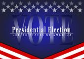 VOTE 2020   Presidential Election USA poster