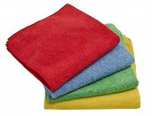 Microfiber Cloths 4 Color