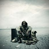 picture of post-apocalypse  - Environmental disaster - JPG