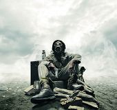 stock photo of post-apocalypse  - Environmental disaster - JPG