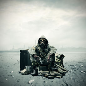 image of gases  - Environmental disaster - JPG