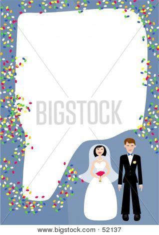 Wedding Frame poster