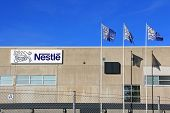 Nestle Factory In Turku, Finland