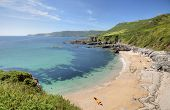 image of devonshire  - Summer time at Great Mattiscombe Sand - JPG