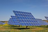 Постер, плакат: Солнечная электростанция