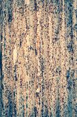 Rusted On Galvanized Iron Plate Grunge Background