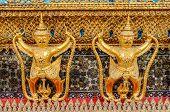 image of garuda  - Garuda Wat Phra Kaew Bangkok Thailand Garuda Wat Phra Kaew Bangkok Thailand - JPG