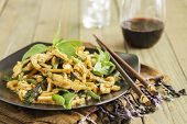 pic of stir fry  - Chicken stir - JPG