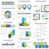 pic of jigsaw  - Business infographics and data visualization vector elements - JPG