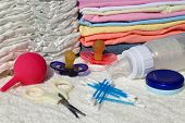 pic of personal hygiene  - Personal hygiene items to care for a newborn - JPG