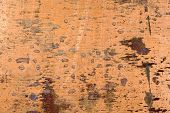 pic of oxidation  - Texture of the old copper with oxidation and scratches - JPG