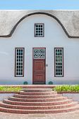 image of south-western  - Building in Stellenbosch in the Western Cape Province of South Africa - JPG