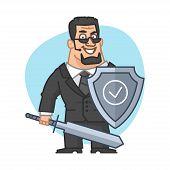 picture of bodyguard  - Illustration - JPG