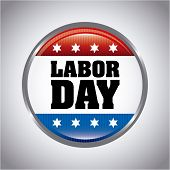 picture of labor  - labor day over gray background vector illustration - JPG