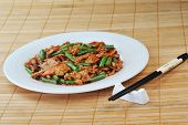 picture of malaysian food  - delicious chinese food on plate close up - JPG