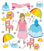 image of princess crown  - colorful children - JPG