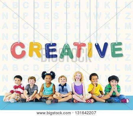 Creative Design Ideas Creativity Imagination Innovation Concept