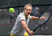 pic of older men  - man playing tennis - JPG