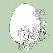 picture of pasqua  - stylized easter egg - JPG