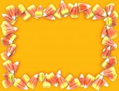 Candy Corn Frame 01